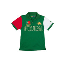 Camisa Polo Infantil Portugal Verde - Club Polo Collection