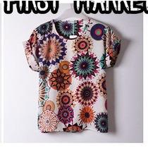 Camisa Blusa Camiseta Estampa Retro Manga Curta Importado G