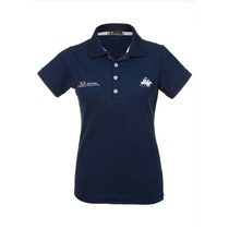 Camisa Polo Feminina Ski Team Azul - Club Polo Collection