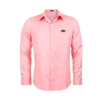 Camisa Fashion Classic Rosa - Club Polo Collection