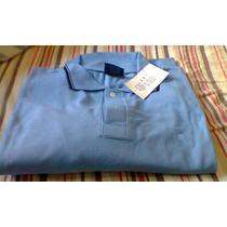Camisas Polo Piquet Tamanho Xxl Manga Longa Bege Verm.azul