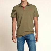 Camisa Polo Maculina Hollister - Original Americana