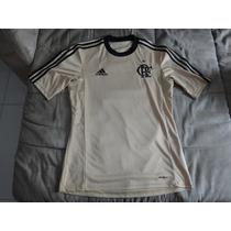 Camisa Flamengo Goleiro Dourada Adidas Oficial 2013 Tamanhop