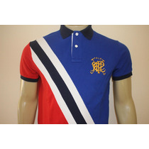 Camisa Gola Polo Custom Fit Rugby Royal Polo Ralph Lauren