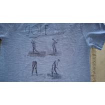 Camiseta - M. Officer - Azul - M