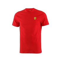 Frete Grátis Camisa Scuderia Ferrari Round-necked T-shirt