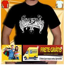 Camiseta La Familia 013 Camisa Cbjr Charlie Brown Jr Skate