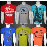 Camisetas Armani Exchange Abercrombie Hollister Aeropostale