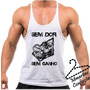 Camiseta Regata Tank Top Sem Dor Sem Ganho No Pain No Gain