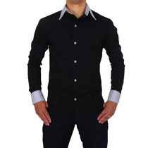 Camisa Polo Social Anibla Slim Fit T-01