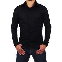 Camisa Polo Social Anibla Slim Fit T-24