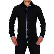 Camisa Polo Social Anibla Slim Fit T-31