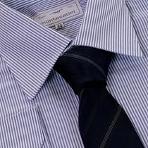 Camisa Social 100% Algodão Fio 50 Extra Macio 01 1011