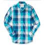Camisa Social Aero Xadrez- Hollister Abecrombie