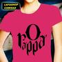Camisa O Rappa Camiseta Banda Rock Baby Look Feminina Mulher