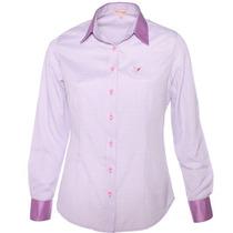 Camisa Xadrez Feminina Tiffany - Pimenta Rosada