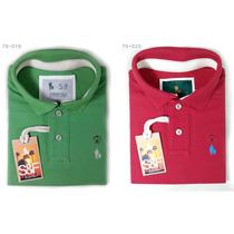 Kit Camisa Gola Polo S&f, 2 Camisetas Pronta Entrega Brasil