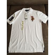 Camisa Polo Infantil - Us Polo Assn - Masculino - Importado
