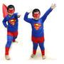 Fantasia Infantil Super Homem / Super-man Festas ...