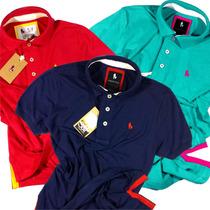 Super Kit 3 Camisas Camisetas Polo, Original Frete Gratis