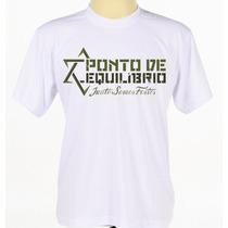 Camisa Estampada Banda Reggae Ponto De Equilíbrio