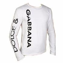 Camisa Dolce & Gabbana Vertical P, M, G E Gg