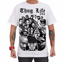 Camiseta La Mafia Tamanho P M G Gg - Cores Branca E Cinza