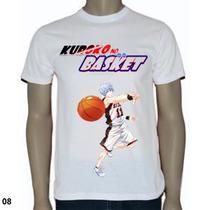 Blusas Animes/desenhos - Kuroko No Basket Aomini Kise Kagami
