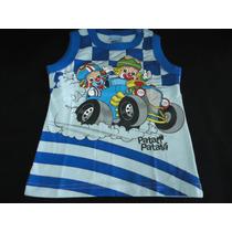 Camiseta Blusa Menino Criança Regata Infantil Disney Persona