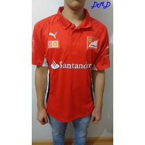 Camiseta Ferrari Puma F1 Santander