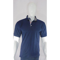 Camisa Polo Slim Fit Royal Azul