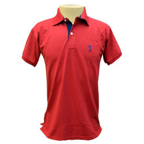 Camisa Polo Aleatory Vermelha