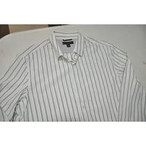 Camisa Social Masculina Banana Republic 100% Original (g)