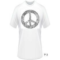 Camisa Personalizada Paz E Amor