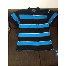 Camisa Polo Masculina Listrada Tam Gg
