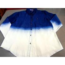 Camisa Jeans - Feminina - Degrade Importada