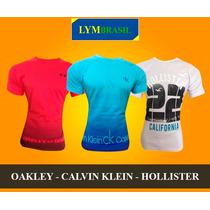 Lote 20 Camiseta Kit Atacado Hollister Nike Adidas Tomy Polo