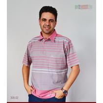 Polo Sangenaro Plus Size 100% Algodão Frete Grátis
