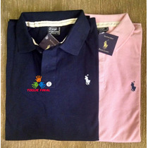 Kit 5 Camisa Polo Tommy Hilfiger | Ralph Lauren