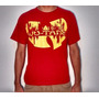 Camiseta Fresh Undergorund Wu Tang Clan Original Hip Hop Rap