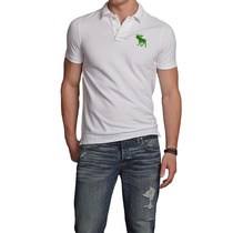 Camisa Camiseta Polo Masculina Abercrombie Oferta