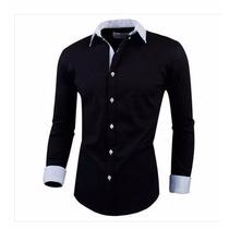 Camisa Social Slim Premium Plus Size