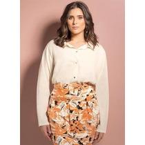 Camisa Feminina Plus Size Branca - Roupa Tamanhos Grandes