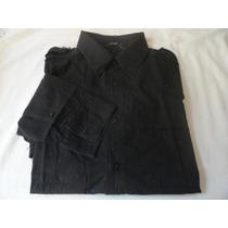 Camisa M. Officer Casual Diferenciado Manga Longa Tamnaho 1