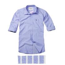 Camisa Xadrez Hollister Abercrombie Fitch Manga Longa