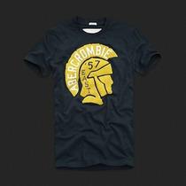 Camisa Abercrombie Masculina Original Estampada
