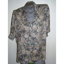 Camisa Havaiana Estampada Masculina Importada Praia Lual