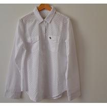 Camisa Abercrombie & Fitch Branca Feminina