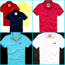 Camisa Polo Kit C/5 Hollister , Abercrombie E Outras Marcas