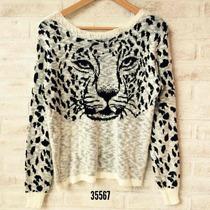 Blusa Tricot Tigre - Frete Grátis Exceto Norte E Nordeste